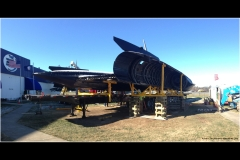 SR-71 Spy Plane moved to Science Museum of VA